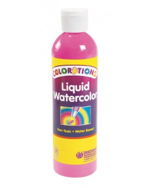 LIQUID WATERCOLOR 8 OZ PINK