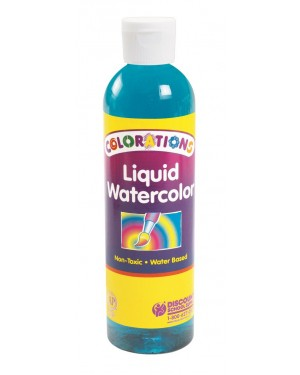 LIQUID WATERCOLOR 8 OZ TURQUOISE