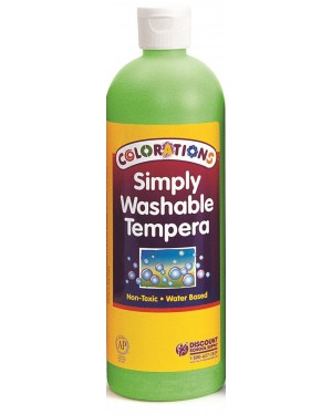 SIMPLY WASHABLE TEMPERA 16OZ APPLEGREEN