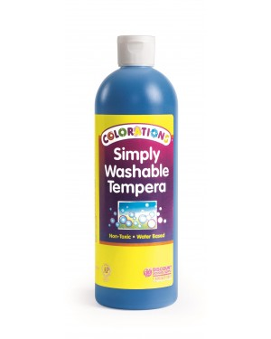 SIMPLY WASHABLE TEMPERA 16OZ BLUE