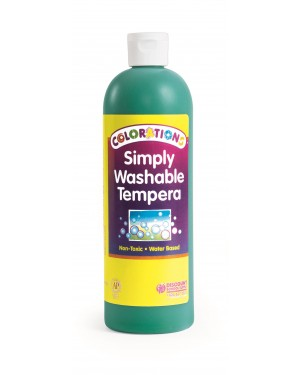 SIMPLY WASHABLE TEMPERA 16OZ GREEN