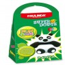Super Dough Non Toxic - Fun 4 one, Panda, 42 g. Accessories are in the box, for 3+ years old.