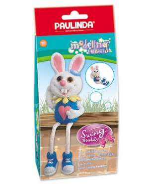 Modeling Foam Non Toxic - Swing Legs,  Rabbit 100 ml.  Accessories are in the box, for 3+ years old