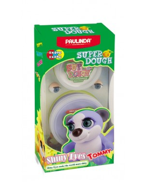 Super Dough Shiny Eyes, Tommy,68 g. Accessories are in the box, for 3+ years old.