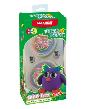 Super Dough Shiny Eyes, Ella, 68 g. Accessories are in the box, for 3+ years old.