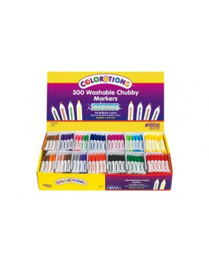 WASH CHUBBY MARKER SMART PACK - 300 PC