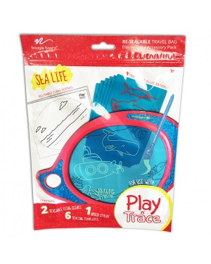 BB Play N' Trace Accessory Pack -         Sea Life