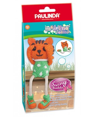 Modeling Foam Non Toxic - Swing Legs, Lion 100 ml.  Accessories are in the box, for 3+ years old