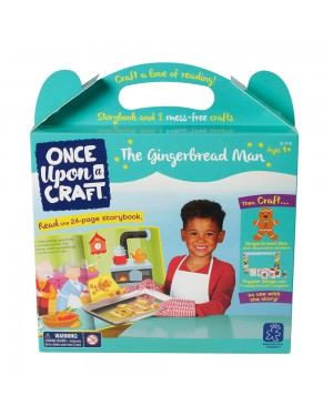 ONCE UPON A CRAFT-THE GINGERBREAD MAN