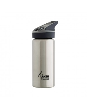 Stainless Steel Thermo Bottle 0.5 L - Silver