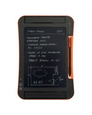 Boogie Board Sync 9.7 LCD eWriter Write, Save and Auto Sync Writing Board with Build in Chargable Battery via Mini USB