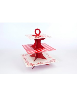 Deck the Halls, 3 Tier Cake Stand
